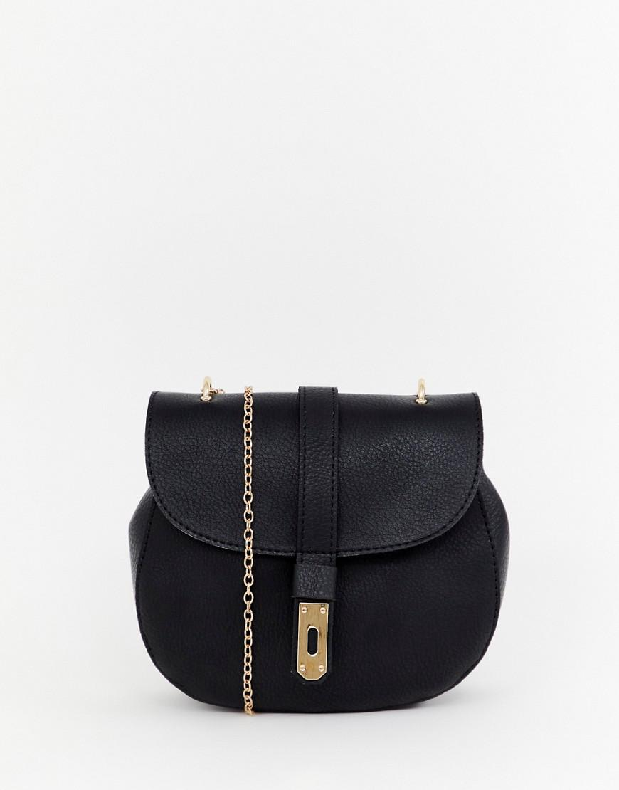 34e881e30b Yoki Fashion Yoki Saddle Bag in Black - Lyst