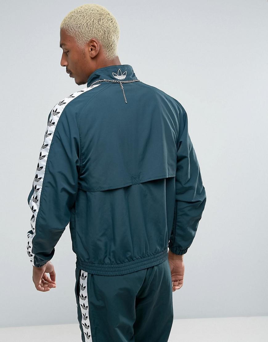 adidas original tnt adicolor wind jacket green