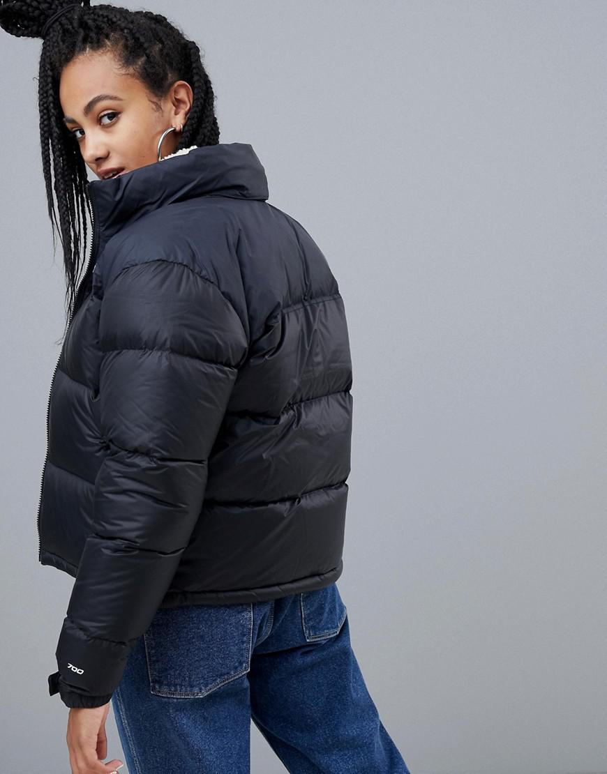 38a0ba171f Lyst - The North Face Womens 1996 Retro Nuptse Jacket In Black in Black