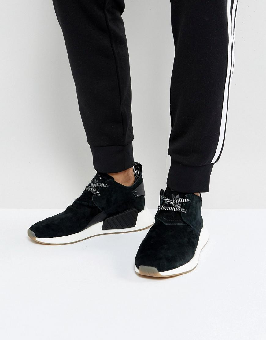 b38b612dbf28a adidas Originals Nmd C2 Trainers In Black By3011 in Black for Men - Lyst