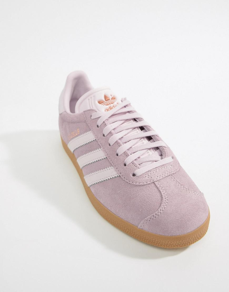 Lyst - adidas Originals Pastel Gazelle Sneakers a0855a30f347