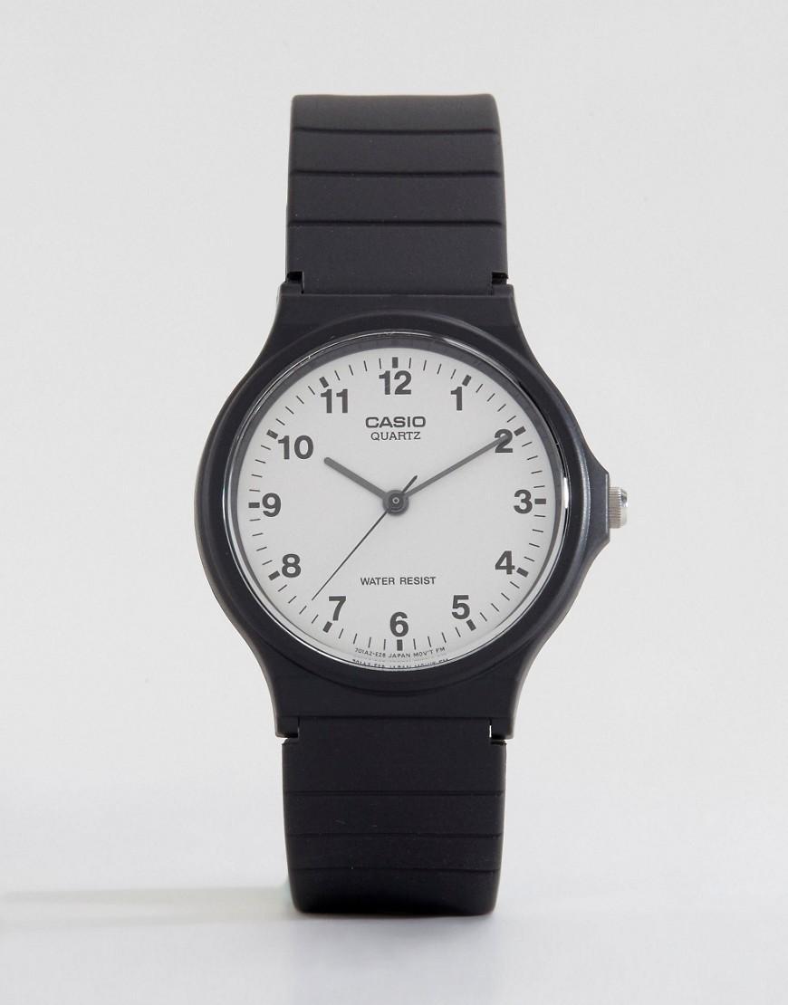1ba58950bc5b Lyst - Reloj analgico con correa de resina MQ-24-7BLL de G-Shock de ...