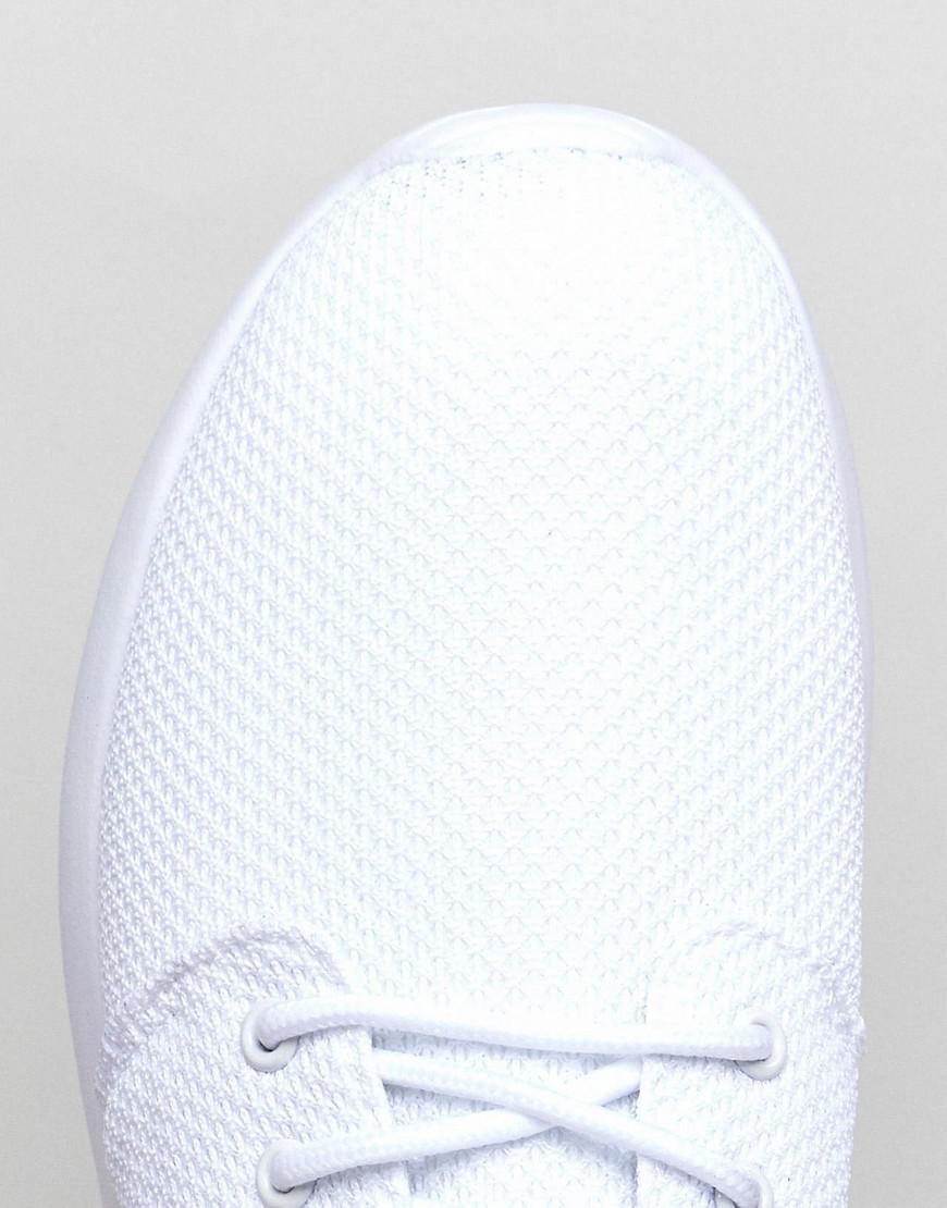 Loyalty & Faith Diver Trainers In White