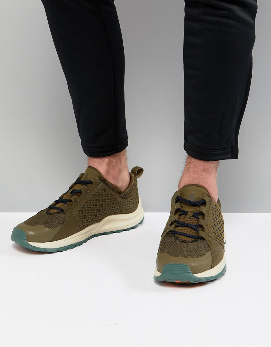 The North Face Mountain Trainers in Green/Navy free shipping very cheap cheapest price cheap price JcUGQ