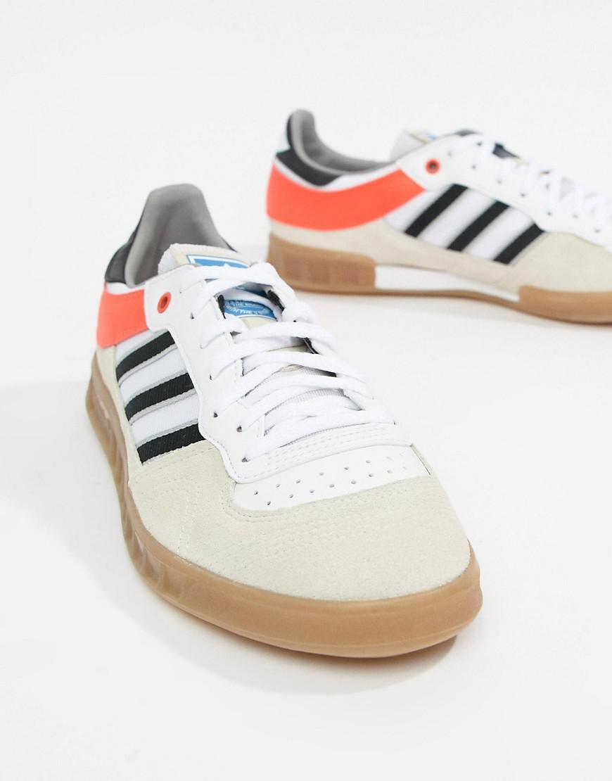 8a3e665b816 Lyst - adidas Originals Handball Spezial Sneakers In Beige Aq0905 in  Natural for Men