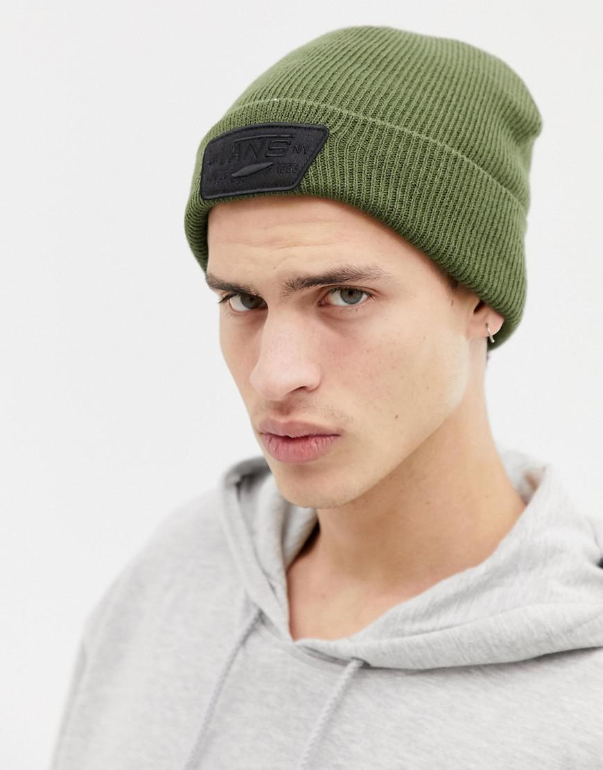9bf061e274a Vans Milford Beanie In Green Vn000uoukcz1 in Green for Men - Lyst