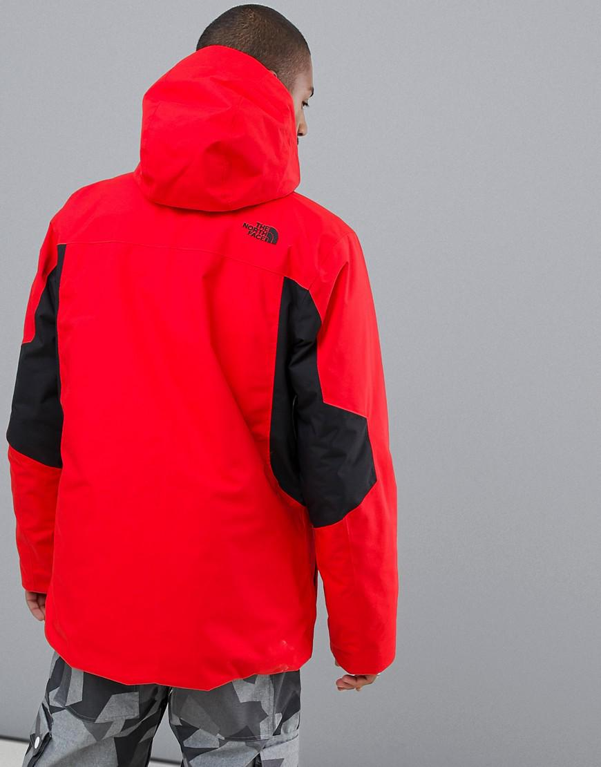 0436b3e9fa4a Lyst - The North Face Clement Triclimate Jacket In Red in Red for Men