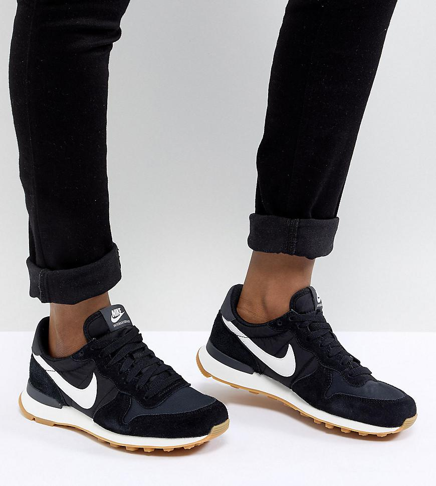 many fashionable pretty nice new authentic Internationalist Nylon Sneakers In Black And White