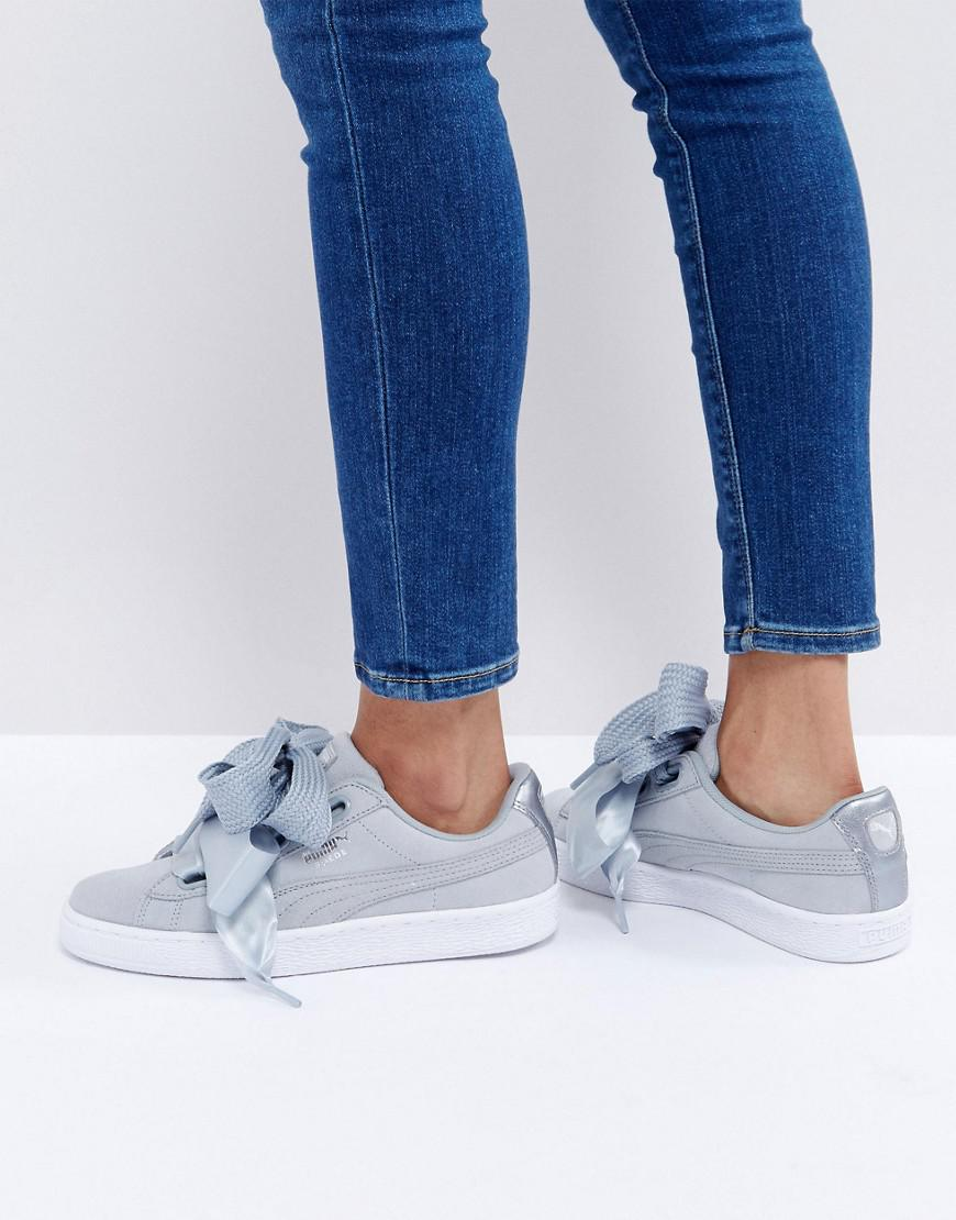 Basket Heart Denim Sneakers