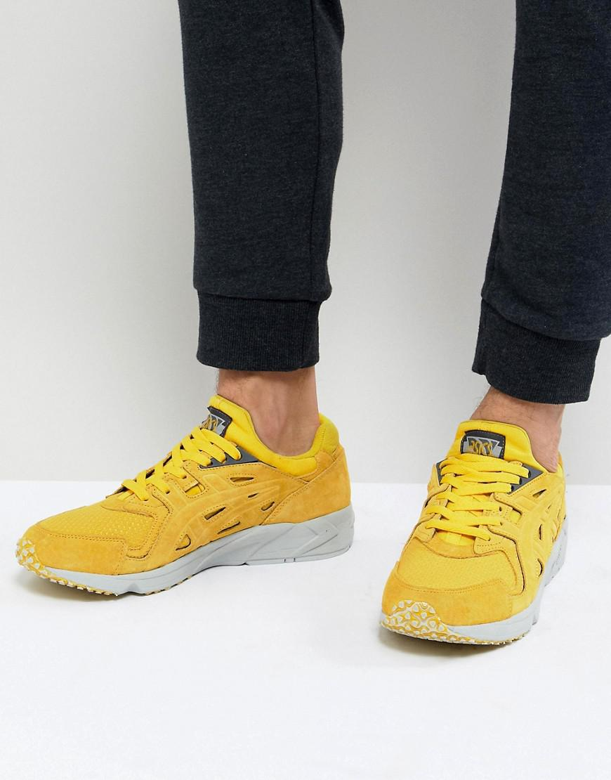 yellow asics trainers online -
