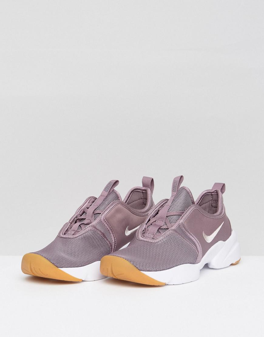 Nike Loden Trainers In Mauve in Purple