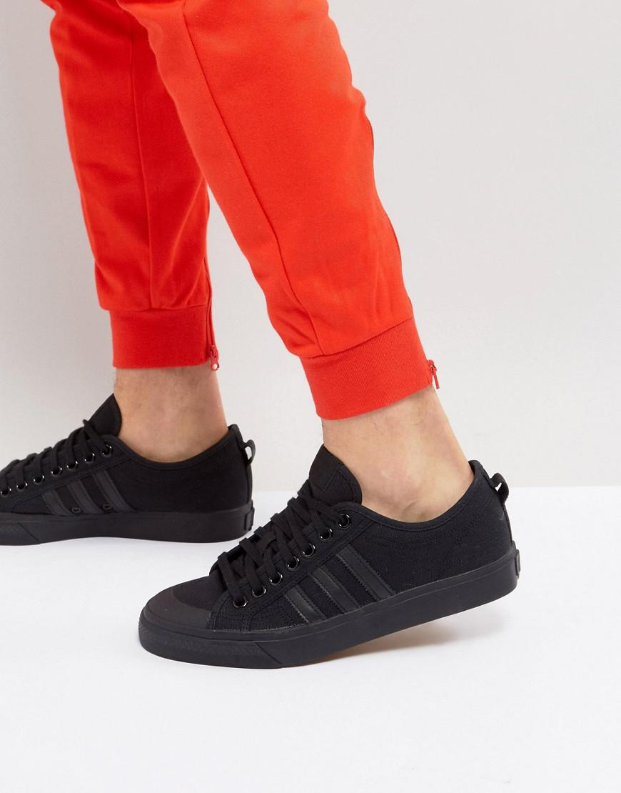 adidas Originals Leather Adidas Originals Nizza Lo Trainers In ...