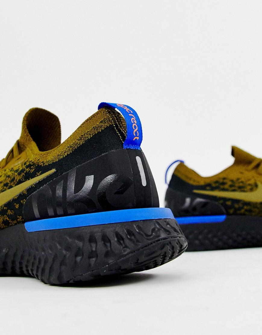 Nike Epic React Flyknit Trainers in