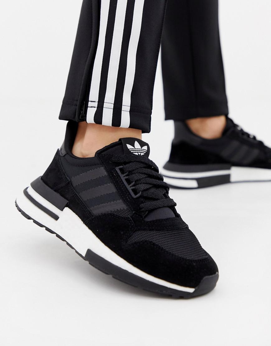 6a8e7f6e124cb Lyst - adidas Originals Zx 500 Rm Sneakers In Black in Black