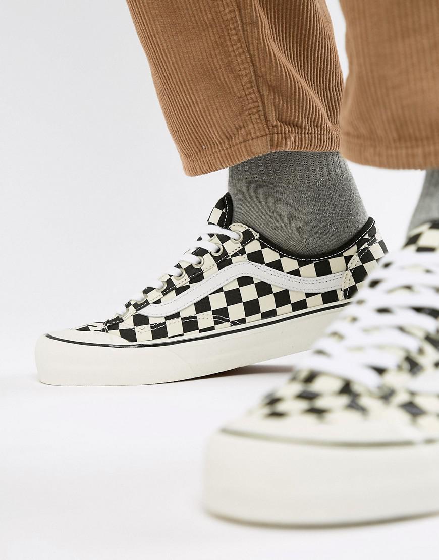 fe4c46e50a Vans Style 36 Decon Sf Checkerboard Sneakers In Black Vn0a3mvl01u1 ...