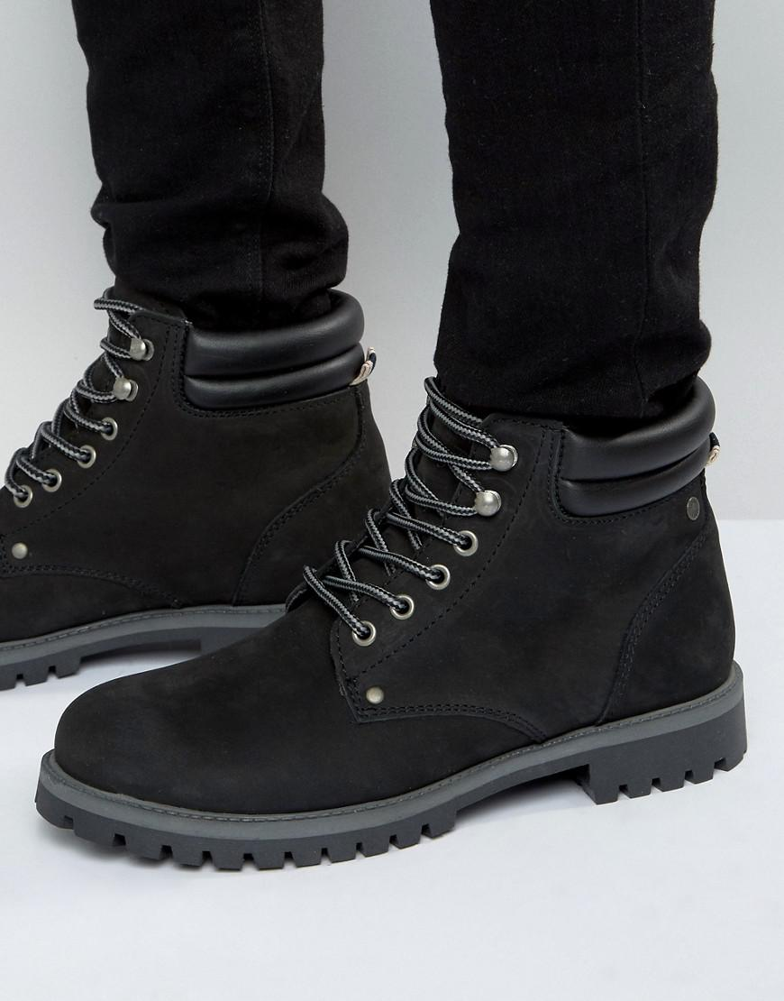 designer fashion famous brand shop best sellers Stoke Suede Boots In Black