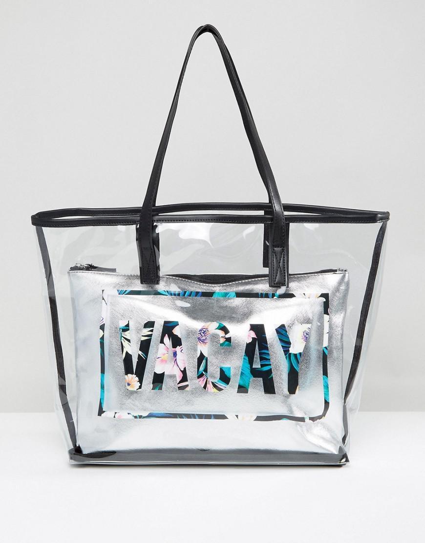 New Look Vacay Clear Beach Per Bag