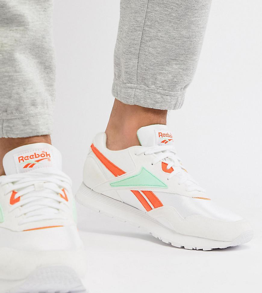 Reebok Classic Rapide Trainers In White Exclusive To Asos Dv5075 in ... 1b6e4dbd3