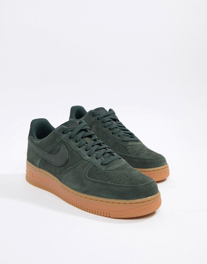 819aa234e1f Nike Air Force 1 '07 Lv8 Suede Trainers In Beige Aa1117-200 in ...