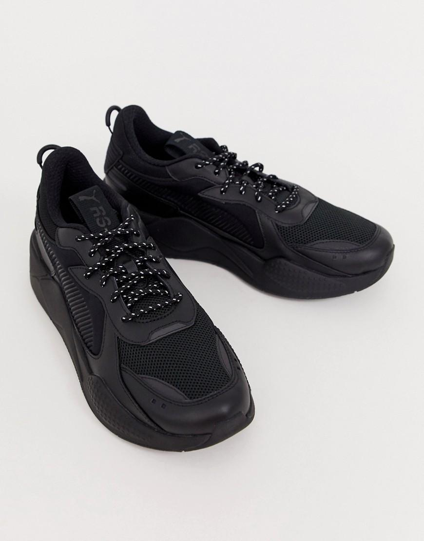 a7872f81c998 PUMA Rs-x Core Trainers In Black in Black for Men - Lyst