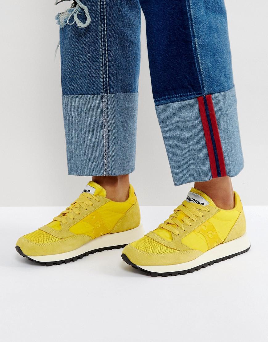 offerta speciale una grande varietà di modelli chic classico Saucony Jazz O Vintage Trainers In Yellow in Yellow - Lyst