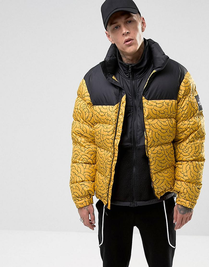 da1c55e93 The North Face Black Label 1992 Nuptse Jacket Yellow Men's Jacket In Yellow  for men