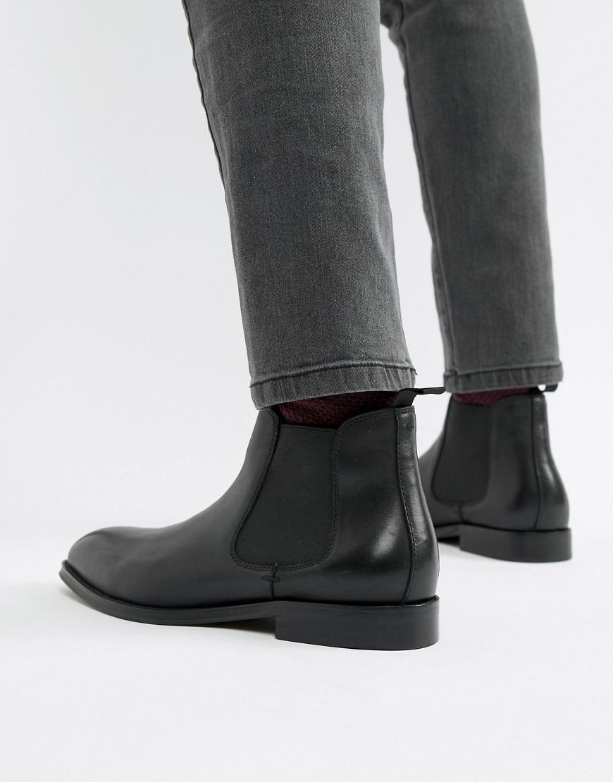 Office Leather Imbark Chelsea Boots In