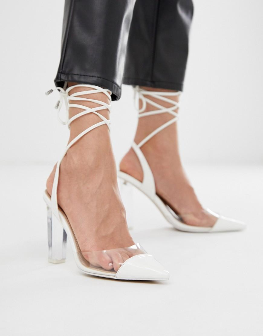 DESIGN Wide Fit Penalty pointed high heels in 2019 | Shoes