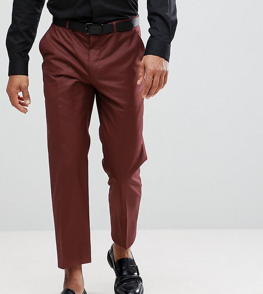 Tapered Cropped Trouser - Brown Heart & Dagger 2kkAZMabAH