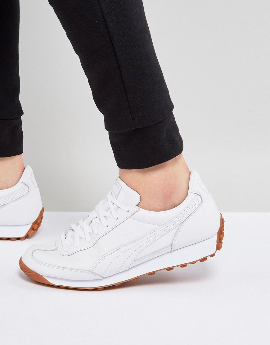 Select Easy Rider Premium Sneakers In White 36463201