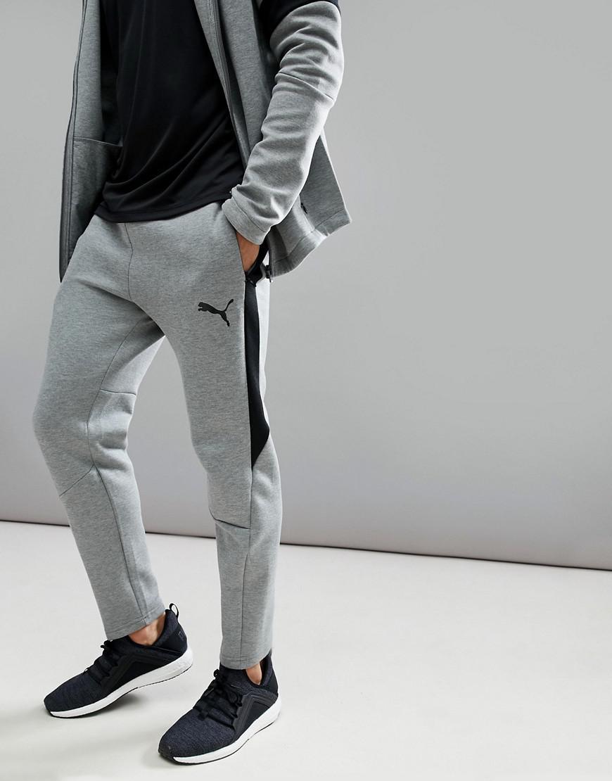 2136bde3 PUMA Gray Running Evostripe Move joggers In Grey 59492403 for men
