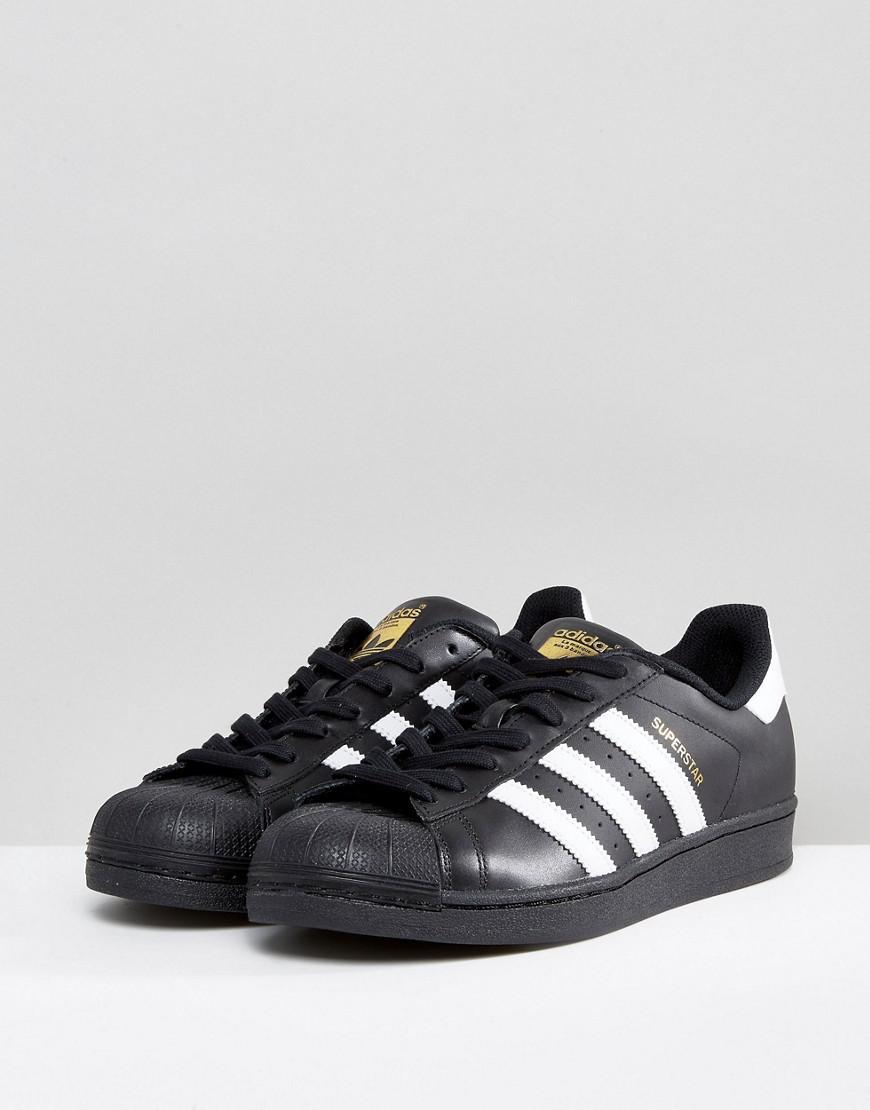 low priced 4bf54 c1b2c adidas Originals. Men s Black Superstar Sneakers B27140