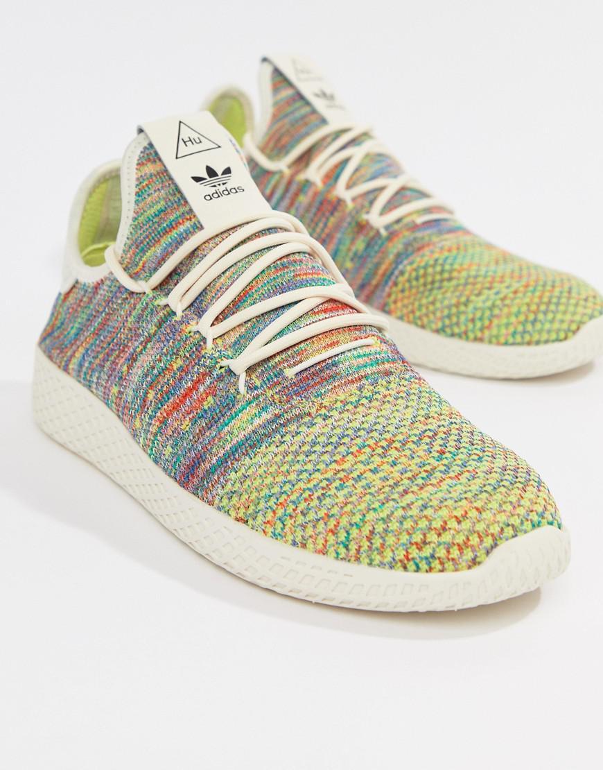 763237683906c Lyst - adidas Originals Pharrell Williams Tennis Hu Sneakers In ...