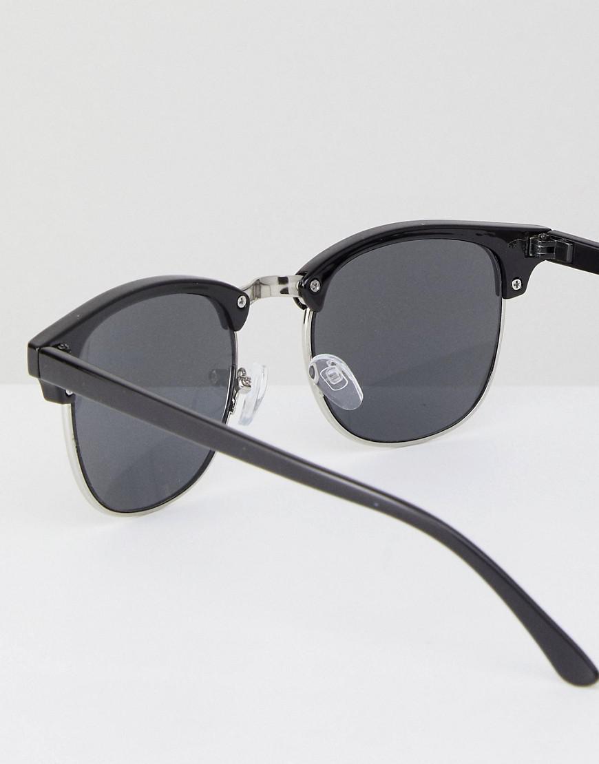 New Look Square Sunglasses In Black for Men