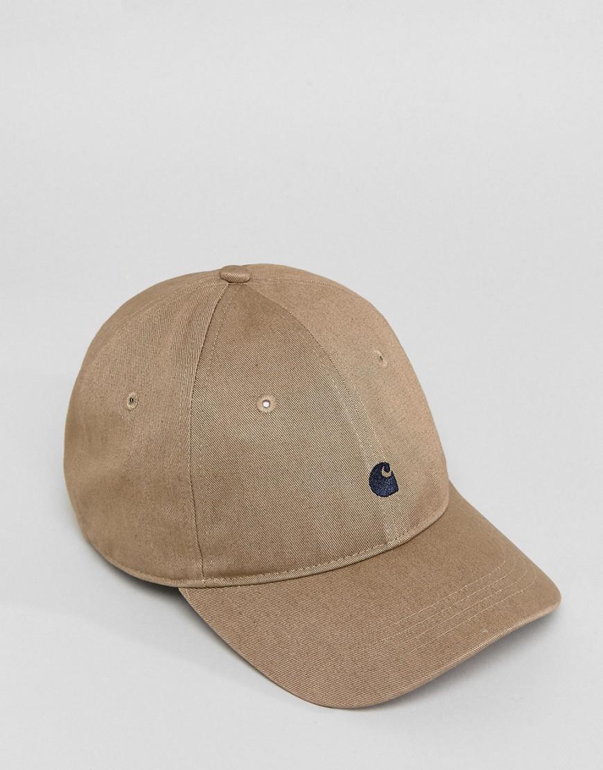 14564fc4154 Carhartt WIP Madison Baseball Cap In Stone for Men - Lyst