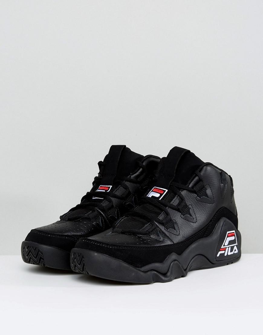 Fila Fila 95 Mid Trainers in Black for Men