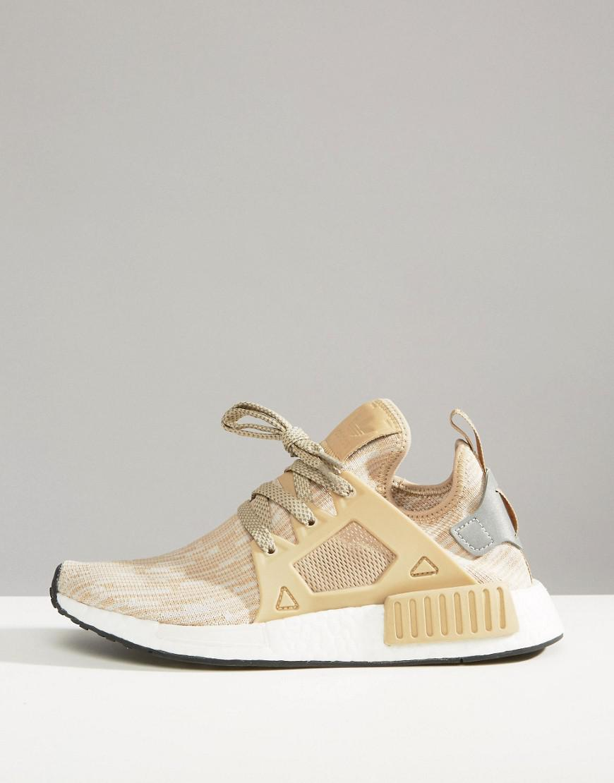 5b2e88ca2 Lyst - adidas Originals Beige Nmd Xr1 Sneakers in Natural