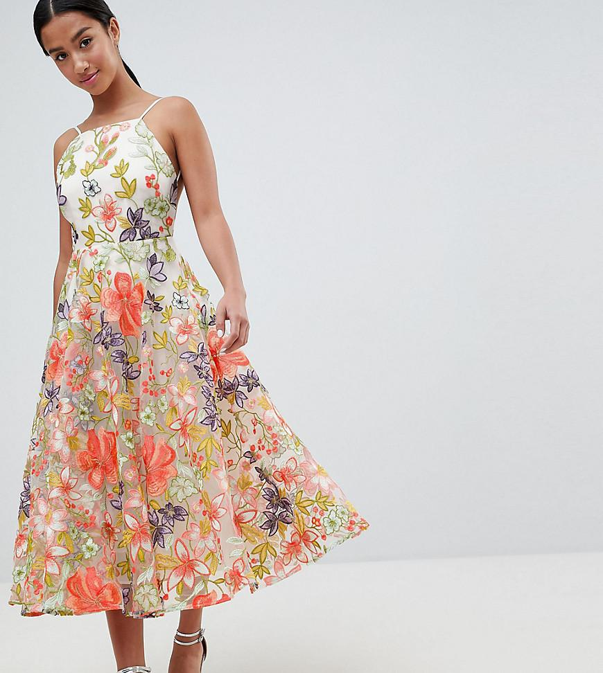 ad8f386fe21 Asos Edition Embroidered Floral Maxi Dress - Gomes Weine AG