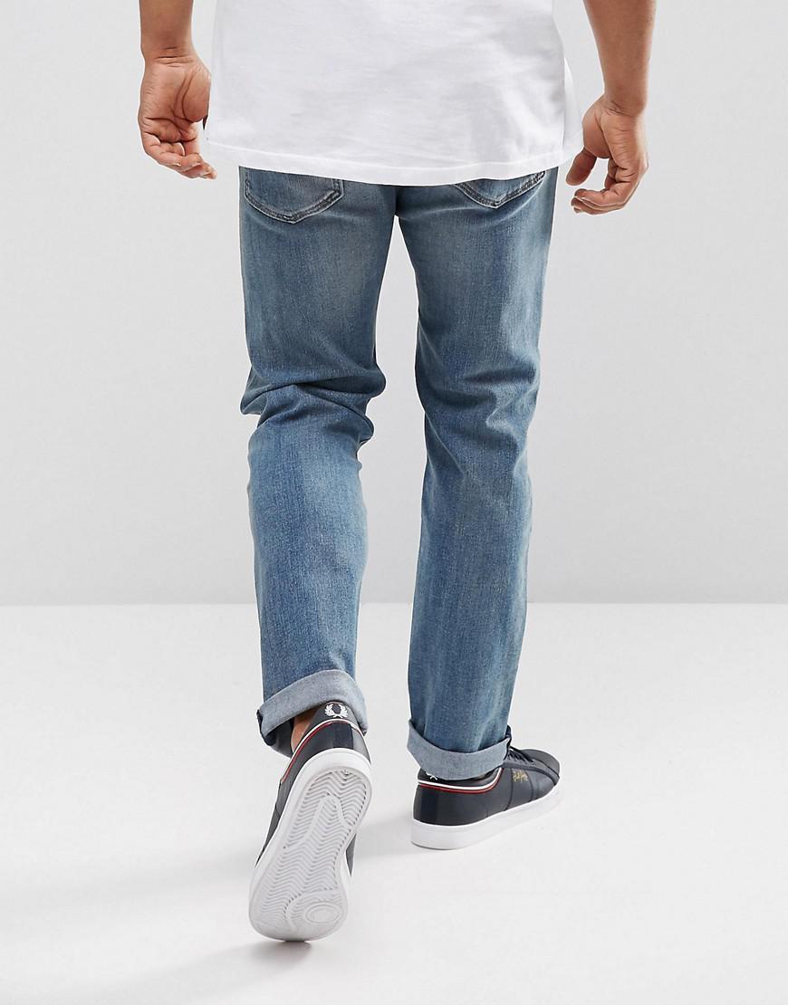 Levi's Denim 502 Regular Taper Fit Jeans Dennis Light Wash in Blue for Men