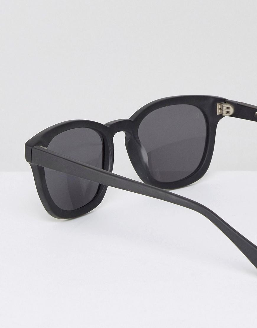 6d2b8e0228 Lyst - Raen Suko Square Sunglasses In Matte Black in Black