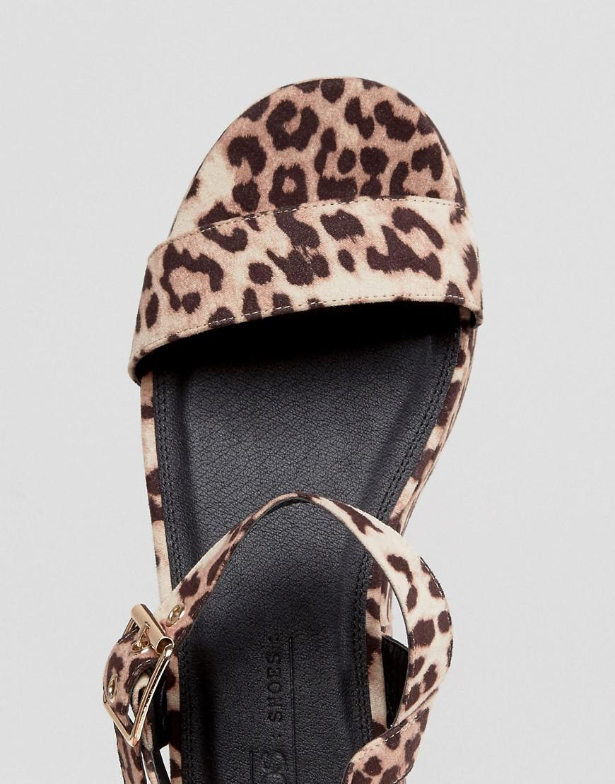 ddc72a8076cb Lyst - ASOS Toucan Wide Fit Wedge Sandals