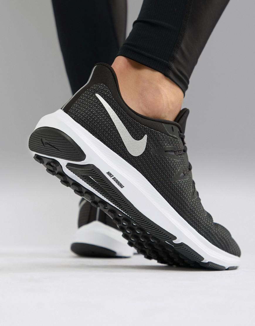 4f818082e07a8 Nike Quest Trainers In Black Aa7403-001 in Black for Men - Lyst