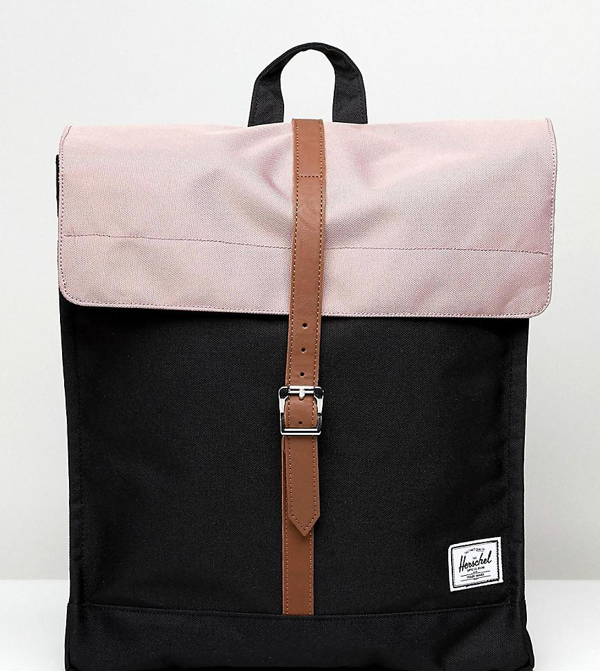 310e9517991 Lyst - Herschel Supply Co. Exclusive City Backpack In Ash Rose Pink ...