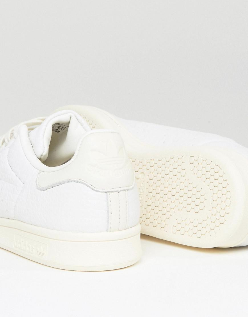 6e3db4ff6ae Lyst - adidas Originals Stan Smith Sneakers In White Bb0036 in White ...