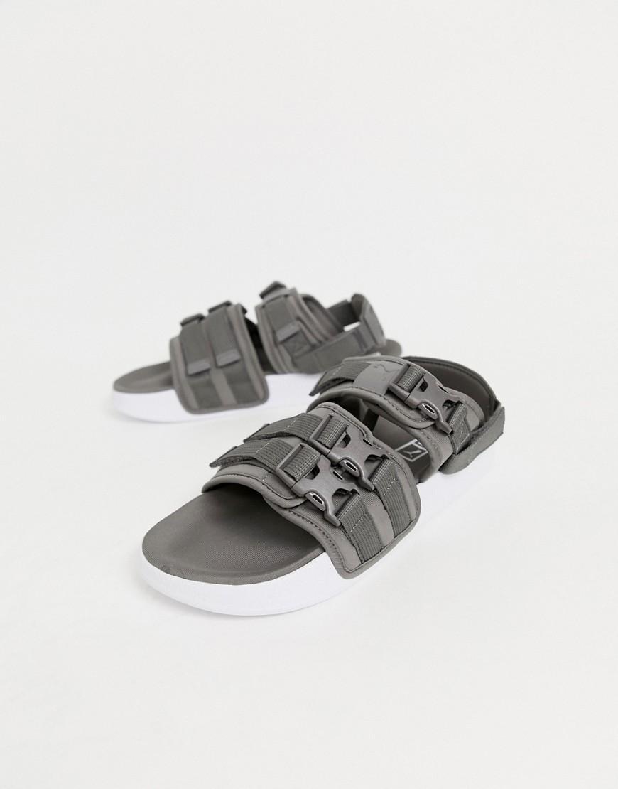 1d4e2e84c7 Men's Gray Leadcat Ylm 19 Tech Sandals In Grey