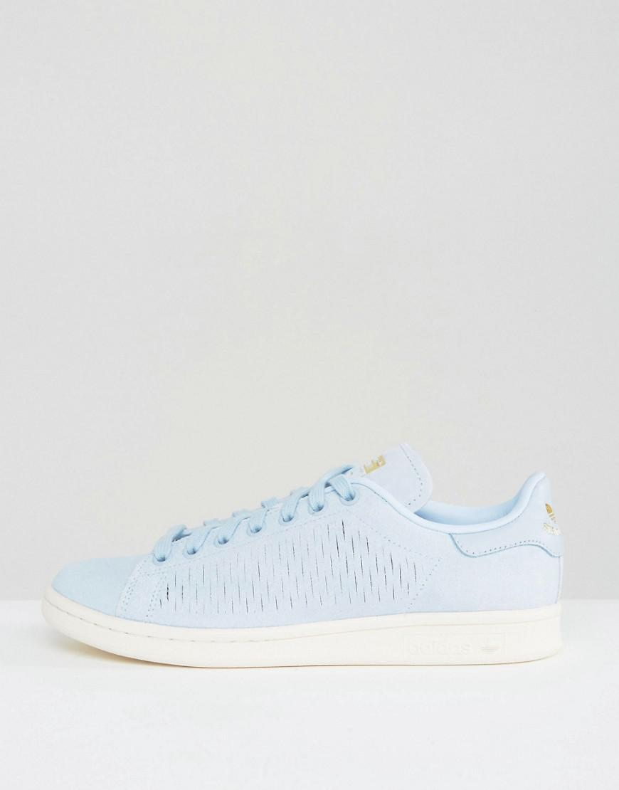 ForOffice | adidas originals easy blue stan smith sneakers