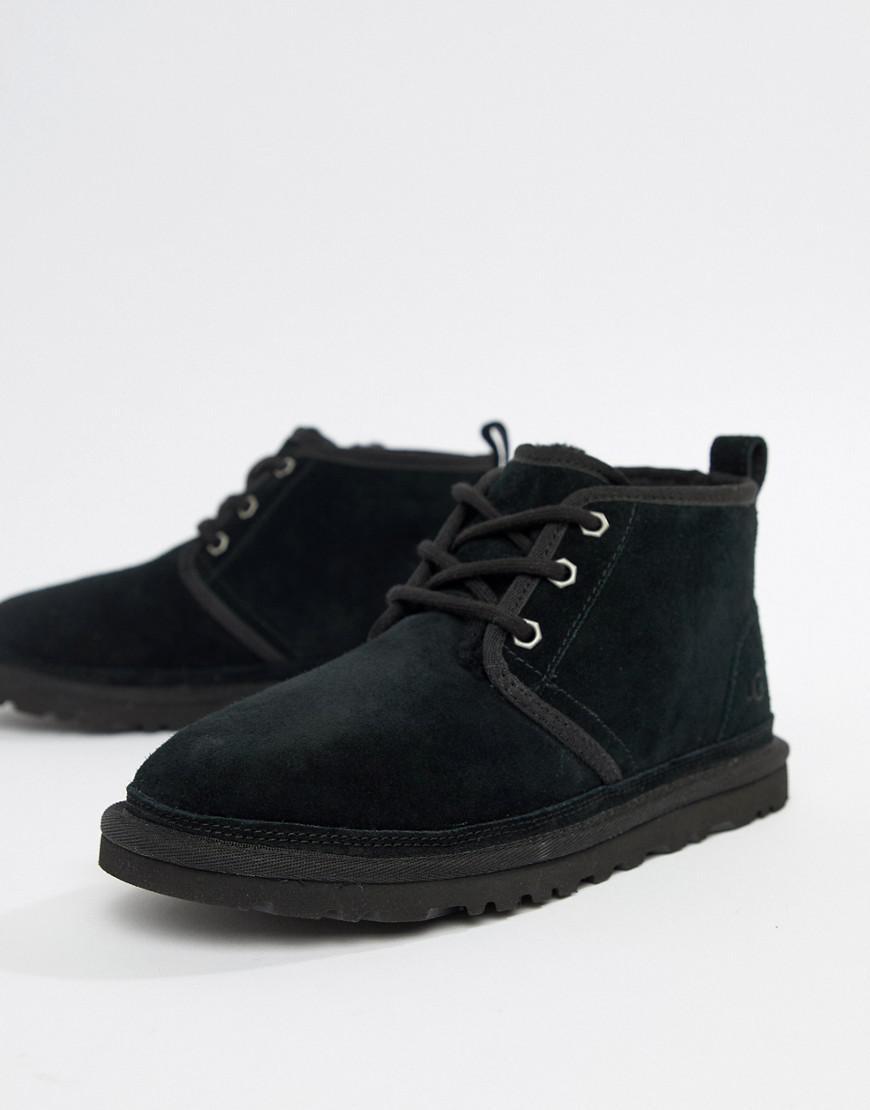 5cbe6233a18 Women's Neumel Black Lace Up Ankle Boots