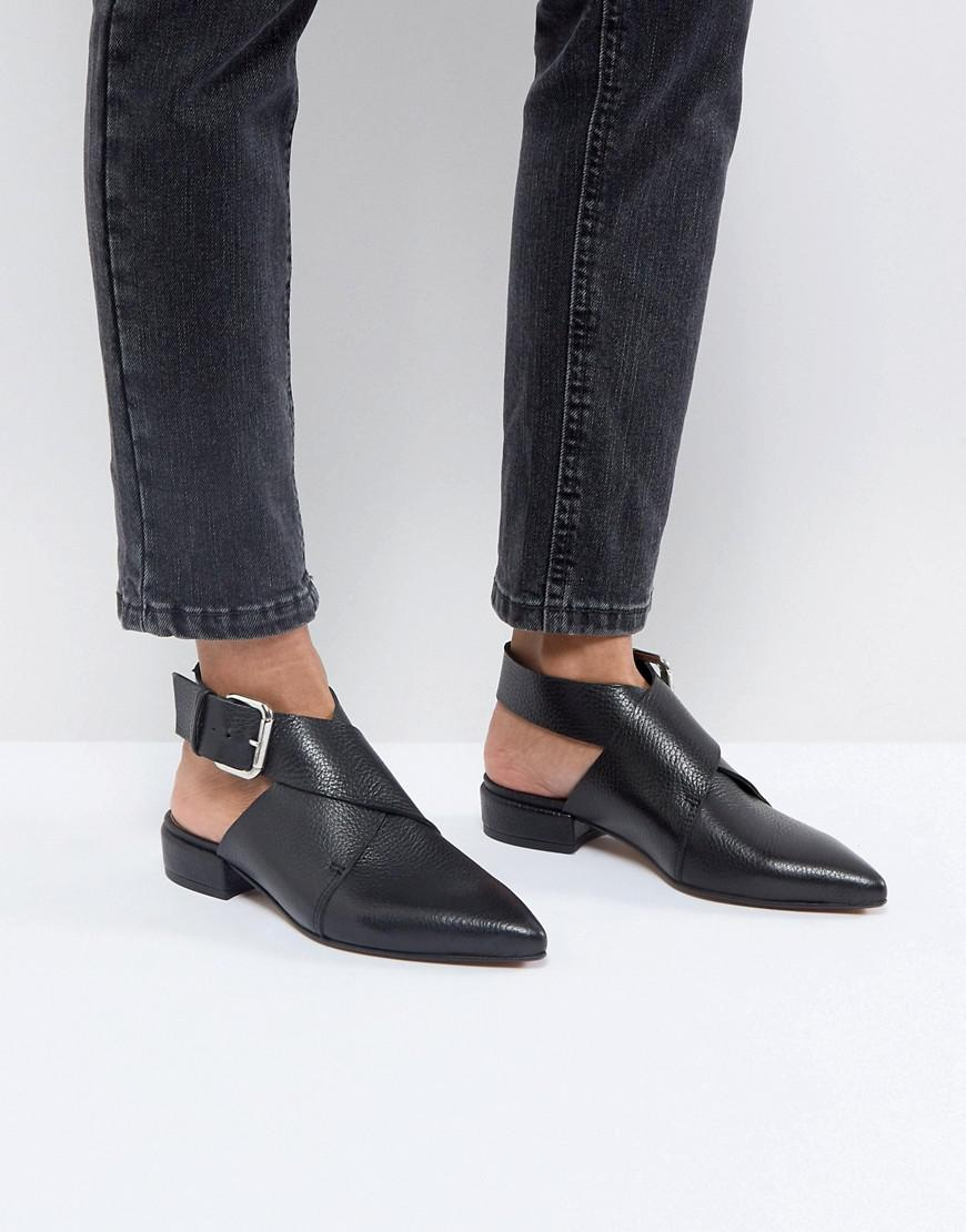 new lower prices buy sale purchase cheap ASOS Matlock Leather Shoes in Black - Lyst