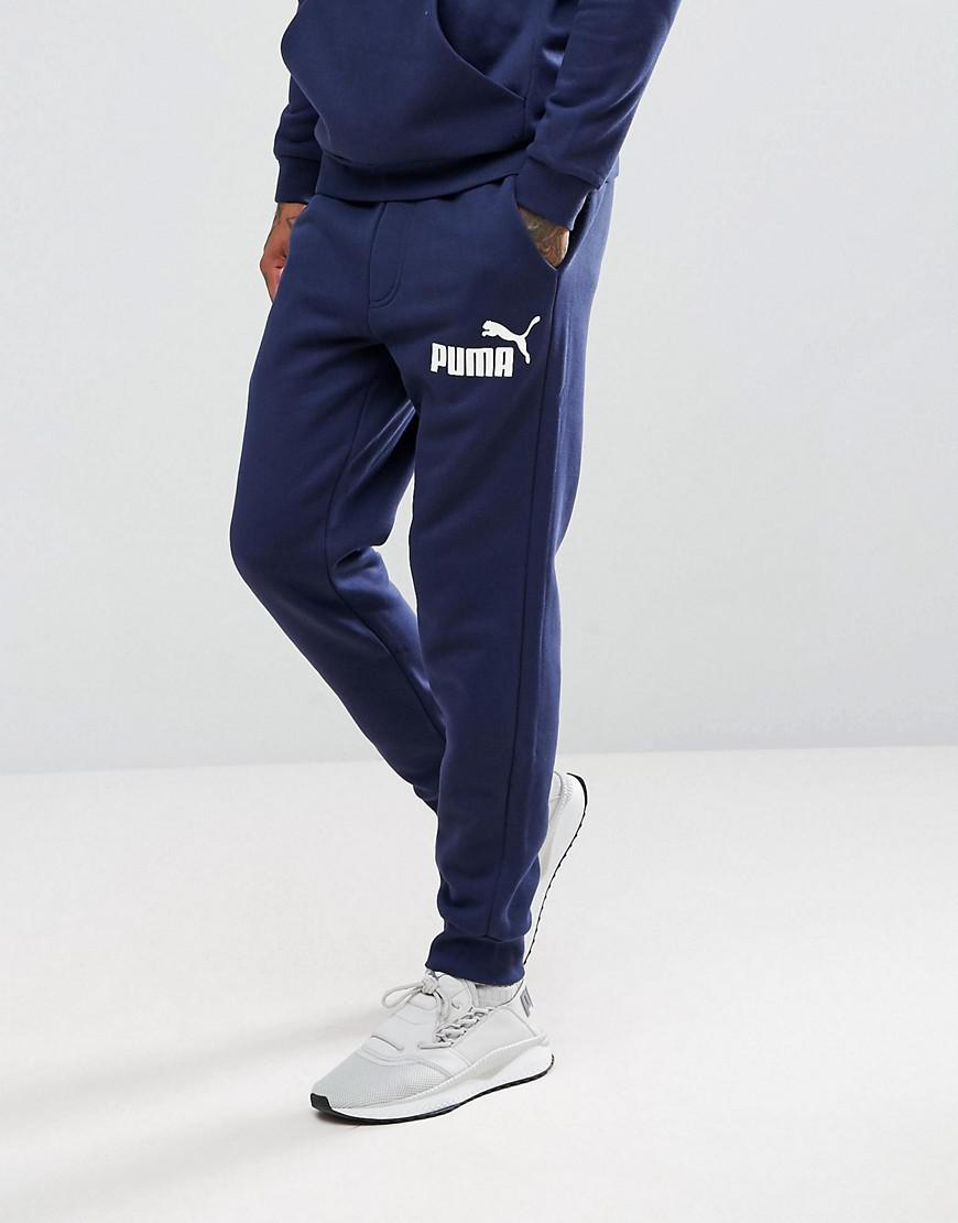 e96d516c54cd Puma Mens Heritage Fleece Cuffed Pants Joggers Men Joggers for Men ...