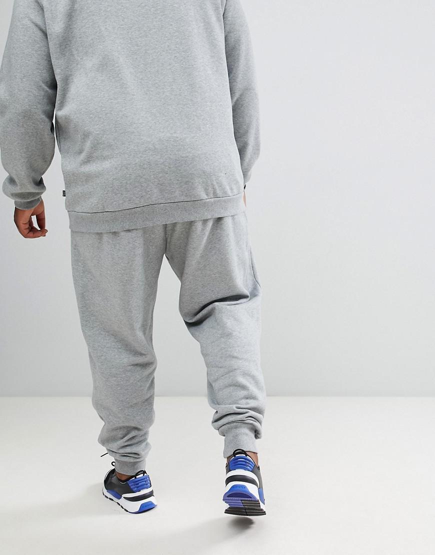14e5e73a6ac7 PUMA Essential Skinny joggers In Grey 85175303 in Gray for Men - Lyst